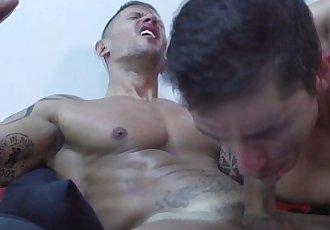 Jay Roberts fucking and tugging actionHD