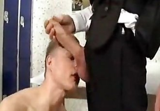 Hung cop fucking a virging ass