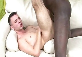 Black Guy Enjoy Bareback With Latino