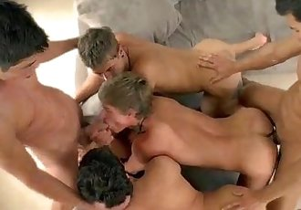 Orgy with Kris Evans