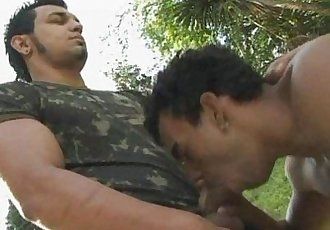 Buffed Military Gay Loves Nature Loving Sex