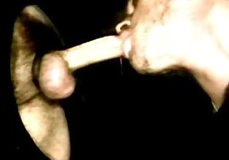 bareback breeding through gloryhole