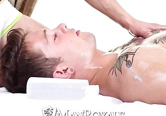 HDManRoyale Hardcore massage and ass pounding for two hunksHD