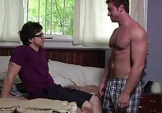 Teen hunk Will Braun loves Connor Maguire naked body and trying to seduced for a