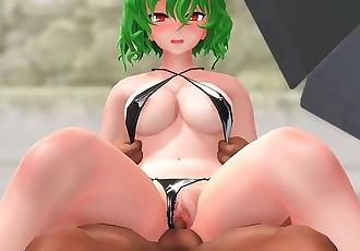 "Kazami Yuuka Sex On The Beach!"""