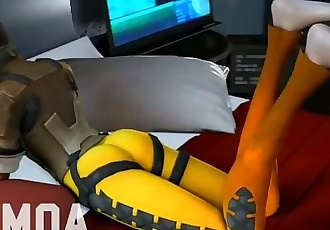 Overwatch Footjob Compilation 2