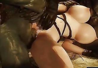 3D Hentai new Sfm girls Fucking 8 29 min 720p