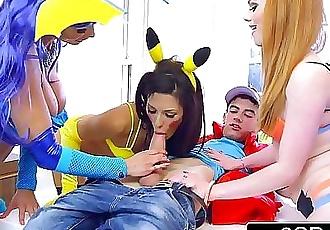 Pokemon GO Triple BlowjobAlexa Tomas, Ella Hughes, Patty Michova 8 min HD