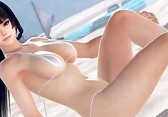 Nyotengu DOAX3 3D hentai