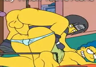 SEXy HoT Simpson GETS ANAL FUCKED By HARDCORE NiNJA Over9000 times a minute