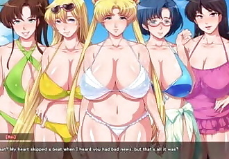 Aheahe Moon R – Return of the Married Sailor Sluts CH 7: The desert island