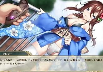 OTOGIE FRONTIER_DMM GAME_SEX SCENE, Fire_★ 5_Pom and Doroshi Kabuki Ver.