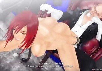 KINGDOM HEARTS III / KAIRI GANGBANG IN THE REALM OF DARKNESS