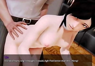 Harem Hotel - Lins first anal experience