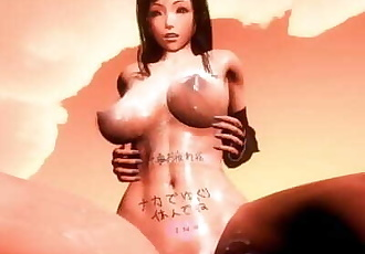 MMD SEX Honey Select FFVII Busty Tifa Lockhart Rides Your Cock POV