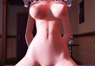 MMD SEX KanColle Daily Delight Sex With Kashima - POV