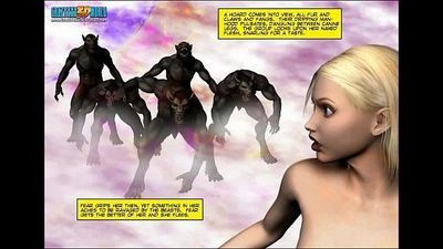 3D Comic: Neverquest Chronicles. Episode 9 - 7 min