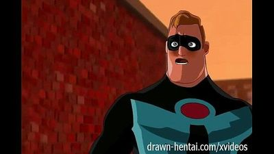 Incredibles hentai - First encounter - 7 min