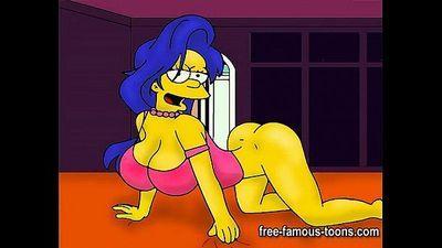 Marge Simpson hentai parody - 5 min