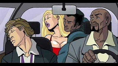 Interracial Cartoon Video - 6 min