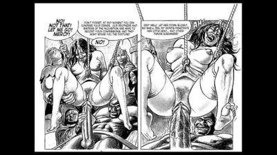 Masterpiece of Bondage Sex Orgy Comic - 6 min