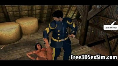 Sexy 3D cartoon indian babe getting her pussy licked - 6 min
