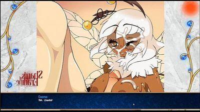 Bee Girl Titty Fucking from Shards of Eradine - 2 min