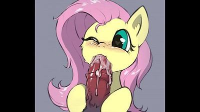 Fluttershy Sucking - 15 sec