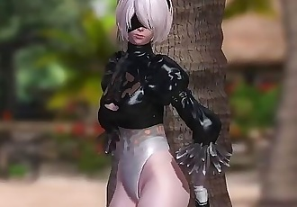 Dead or Alive 5 1.09BH - 2B Relax by a Tree on the Beach