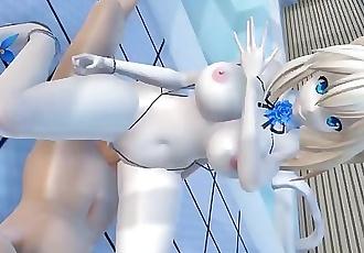 MMD - Mimimi porn, Mirai Akari