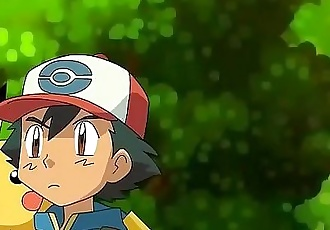 Hentai Pokemon: Ash x Pikachu x Jessie - Full video in: https://bit.do/pokehen - 2 min