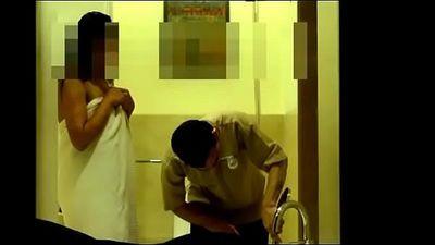 Bhabhi flashing hotel boy - 2 min