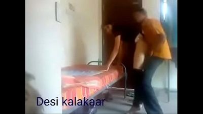 Hindi boy fucked girl in his house and someone record their fucking video mms - 5 min