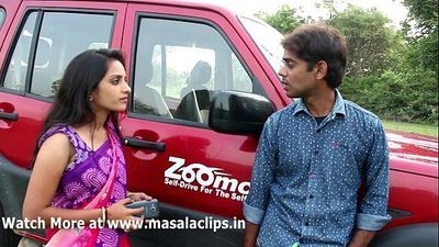 Desi Couples Hot Romance in Car Video - 8 min