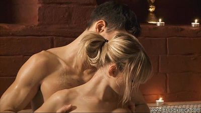 Anal Sex With a Hot Euro Blonde - 6 min