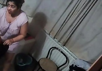mature busty nude indian mallu aunty caught in hidden cam - 3 min