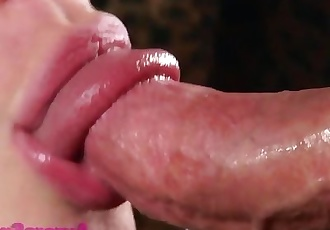 Aurora Snow Close-up Blowjob
