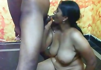 Indian slut with big boobs having sex PART-5