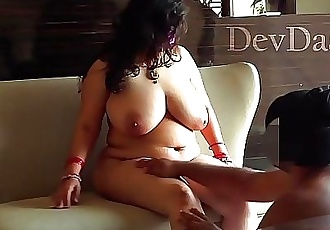 Indian Mom Son Sex VideoShriya Aunty With Big Boobs Getting FuckedDevDasi.org 10 min HD+