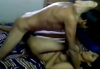 indian couple fucking in different positions - 4 min