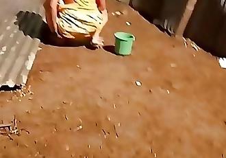 desi indian women pissing outside in open voyeur 50 sec