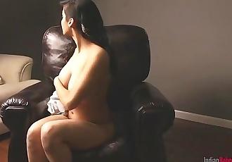 Beautiful Indian Porn Goddess Babe Shanaya Exclusive Stripping