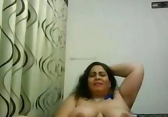 Webcam Indian Aunty dildo