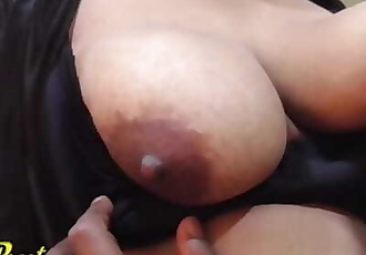 Indian House Wife Boobs Sucking, Blowjob, Loud Moaning Creampie Fuck
