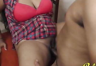 Fucking Big Boobs Indian Girlfriend, Boob Press & Nipple Sucking
