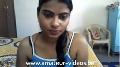Indian Desi College Girl First Tim Cam 1999 www.amateur-videos.be - 11 min