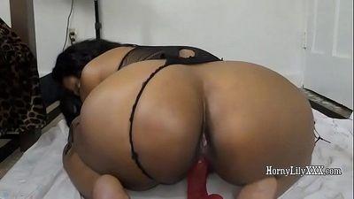 Indian girl Armpit Licking and riding dildo - 10 min