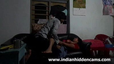 Indian Bhabhi Secretly Fucked By Her Husband Brother - IndianHiddenCams.com - 2 min HD