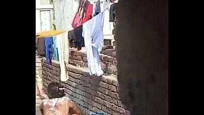 Indian-Bhabhi-bathing - 1 min 29 sec