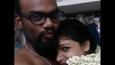 Desi Telugu Young Married Bhabhi Nude Show Boobs Fondle with Ass Expose - 2 min